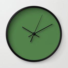 Hippie Green Wall Clock