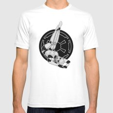 Star Wars Stormtrooper pinup White MEDIUM Mens Fitted Tee