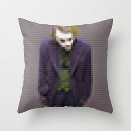 Joker - Why so serious - Toy Building Bricks Throw Pillow