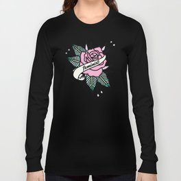 Feminist Rose  Pastel Long Sleeve T-shirt
