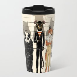 Unusual Suspects Travel Mug