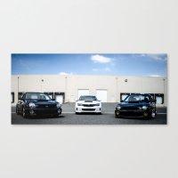 subaru Canvas Prints featuring Subaru by Andre Elliott