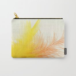 Bird Feathers Carry-All Pouch