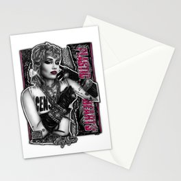 Plastic Hearts Stationery Cards