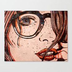 LE REGARD Canvas Print