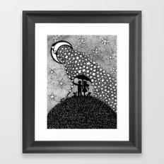 Starshower Framed Art Print