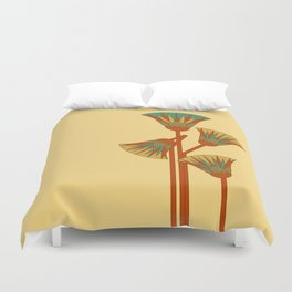 Ancient Egyptian lotus - Colorful Duvet Cover