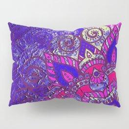 -A15- Colored Moroccan Mandala Artwork. Pillow Sham