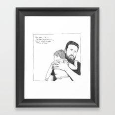LOVE (Advent 2015, Part 4/7) Framed Art Print