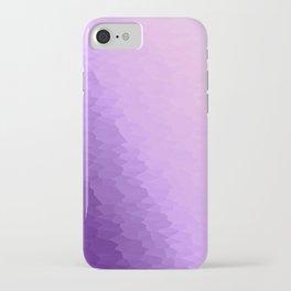 Lavender Texture Ombre iPhone Case