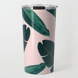 Banana Leaves - Cali Vibes #1 #tropical #decor #art #society6 Travel Mug