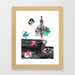 Handbag Party Framed Art Print