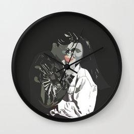 B/W Romance Wall Clock