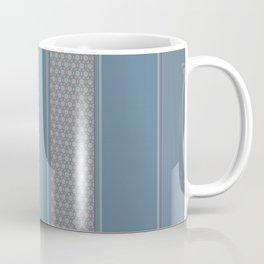 Decorative Vertical Multi Pattern Design Coffee Mug