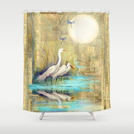 Nature Reflected Series: Local Life Shower Curtain