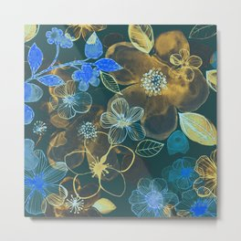 FLOWER PATTERN-5 Metal Print