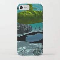 submarine iPhone & iPod Cases featuring Submarine by nicky2342