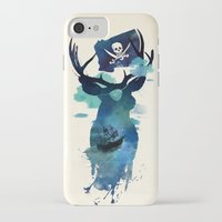 hook iPhone & iPod Cases featuring Captain Hook by Robert Farkas