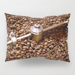 Freshly roasted coffee beans Pillow Sham