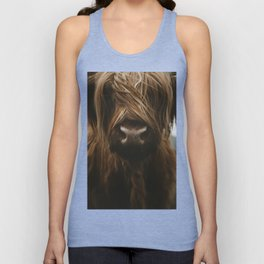 Scottish Highland Cattle Unisex Tank Top