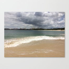 Beautiful gloomy day Canvas Print
