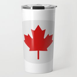 flag canada Travel Mug