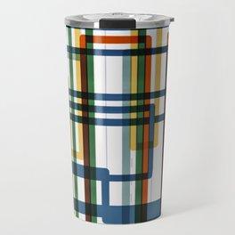 Abstract Lines - 5 Line Metro Map Travel Mug