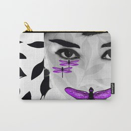 DRAGONFLY WOMAN Carry-All Pouch