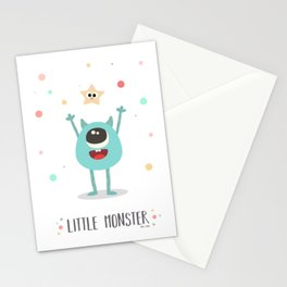 Little Moster Stationery Cards