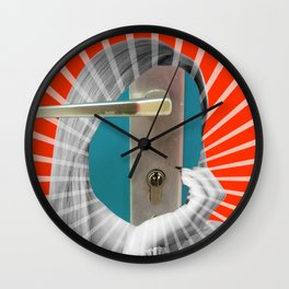 There´s no way out of here Wall Clock