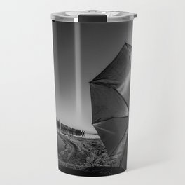 Salton Sea and an Umbrella Travel Mug