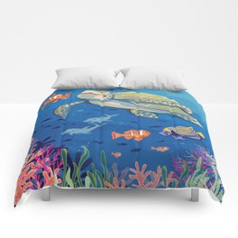 Under the Sea and Above the Coral Comforters