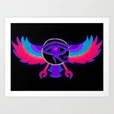 Eye of Ra Art Print