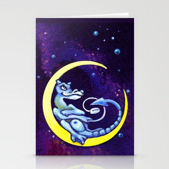Midnight Surfer Stationery Cards