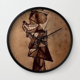 Dead Industrialist Wall Clock
