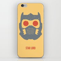 star lord iPhone & iPod Skins featuring Star-Lord by d00d it's jake