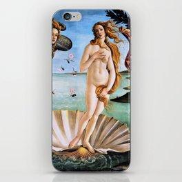 Sandro Botticelli - The Birth Of Venus - Digital Remastered Edition iPhone Skin