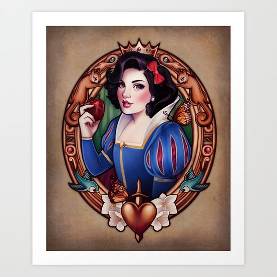 The Fairest Art Print