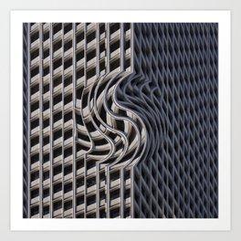 Facade Warp Art Print