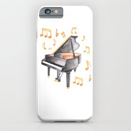 Grand Piano Melody iPhone Case