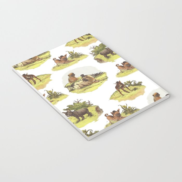 Vintage Dogs Notebook
