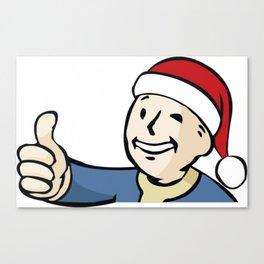 Vaultboy Christmas Canvas Print
