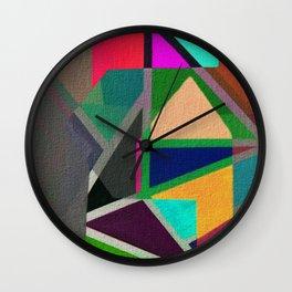Complicerend Piet Mondriaan Wall Clock