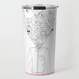 Mind-Blowing Doodles Travel Mug