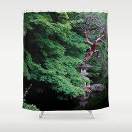 Gyoen Gravitas I Shower Curtain