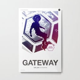 Moon 2 Mars - Gateway Metal Print