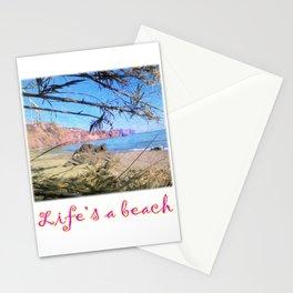 Nerja Beach, Spain Stationery Cards