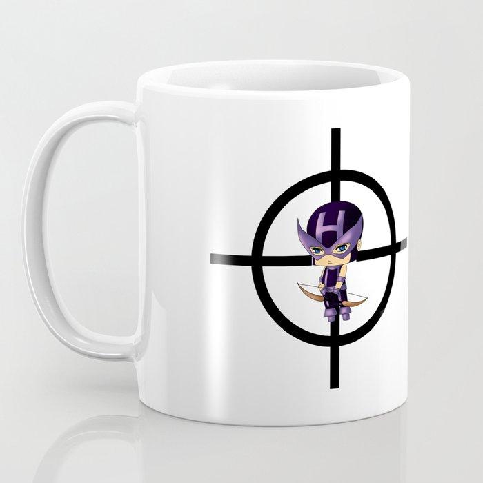 Chibi Hawkeye Coffee Mug