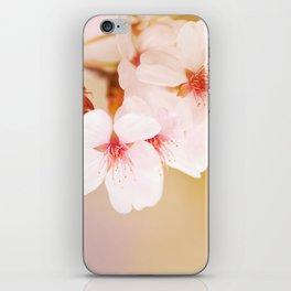 Blooming fairy cherry tree iPhone Skin