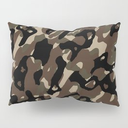 Camouflage Abstract Pillow Sham